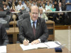Assembleia Legislativa dá posse ao deputado estadual Enelvo Felini