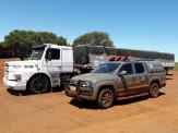 DOF apreende caminhão com mais de uma tonelada de Maconha