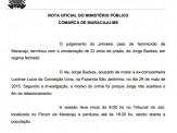 Maracaju: Autor de feminicídio ocorrido no de 2015, foi condenado a 22 anos de prisão em regime fechado