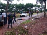 JOVEM E EXECUTADA DE FORMA VIOLENTA E CRUEL NA FRONTEIRA