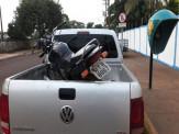 Maracaju: PM recupera motocicleta furtada, próximo a Ponte conhecida como Paço