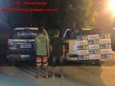 Polícia Militar de Maracaju prende em flagrante autores de assalto ocorrido na cidade de Itaporã
