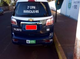 Polícia Militar de Maracaju cumpre mandado de prisão na Vila Juquita após acidente de trânsito