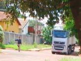 PRF recupera em Maracaju carreta roubada em Rio Verde/GO, que seria usada para transportar cigarro do Paraguai