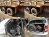 DOF apreende pneus contrabandeados do Paraguai que seriam comercializados em Maracaju