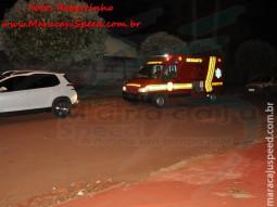 Maracaju: Bombeiros atendem ocorrência de incêndio em residência