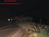 Maracaju: Bombeiros atendem ocorrência de tombamento de carreta na BR-267