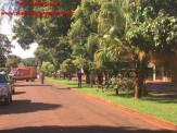 Maracaju: Caminhão derruba postes de energia no Conjunto José Brejão