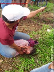 Maracaju: Dois jovens tentam assaltar loja na vila Juquita e atendente é baleado