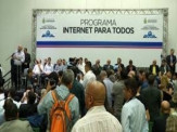 """Maracaju será beneficiada com programa federal, após prefeito Maurílio assinar adesão ao Programa """"Internet para Todos"""""""