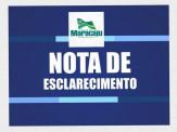 Notícia falsa veiculada sobre concurso público da Prefeitura Municipal de Maracaju
