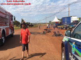 Maracaju: Após liberação de bloqueio alguns motoristas ateiam fogo em sofá e pneus na tentativa de interditar a rodovia