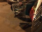 Maracaju: Motociclistas amigos se embolam em acidente na Avenida Marechal Deodoro