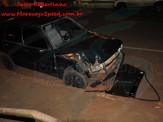 Maracaju: Condutor aparentemente embriagado de veículo, colidi com árvore na Rua Dracena