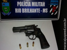 PM de Rio Brilhante prende em flagrante autor de tentativa de homicídio