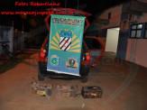"""Maracaju: Ladrões agiam na função de roubar bateria de carreta, mas acabam sem """"carga"""" nas mãos do PMs"""