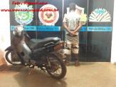 Maracaju: PM recupera motocicleta furtada e prende adolescente autor pelo furto