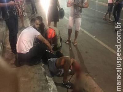 Militar do Exército tem perna amputada em acidente de trânsito