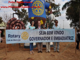 Governador do Rotary Distrito 4470 Marcos Vinholi e embaixatriz Andrea Peron Vinholi são recebidos em Maracaju