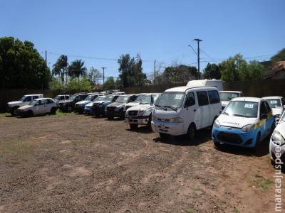 Governo do MS leiloa 130 veículos. Etapa presencial seria dia 25 de setembro