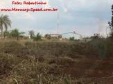 Maracaju: Incêndio em área rural próximo a BR-267, coloca Corpo de Bombeiros em ação com apoio da Polícia Militar