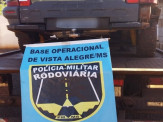 Maracaju: PMRv Base Vista Alegre recupera veículo furtado que estava capotado no interior de lagoa