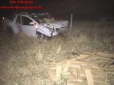 Maracaju: Veículo carregado com mais de uma tonelada de Maconha capota após perseguição da Polícia Militar