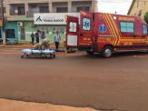 Maracaju: Colisão entre duas motocicletas deixa jovem ferida