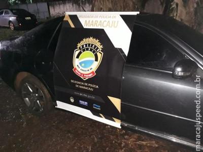 Maracaju: Polícia Civil recupera veículo roubado em Porto Alegre