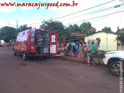 Maracaju: Motociclista atropela criança e se evadi do local sem prestar socorro