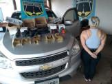 Maracaju: PMR Base Vista Alegre prende mulher por tráfico de arma de guerra e munições (Fuzil AK-47 e munições calibre .50)