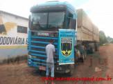 Maracaju: Polícia Militar Rodoviária recupera carreta bitrem roubada