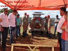 Maracaju: Velório, cortejo e sepultamento de voluntário Bombeiro. Muita emoção e homenagem a Deiwed
