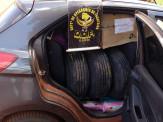 Maracaju: DOF apreende dois veículos com produtos contrabandeados do Paraguai