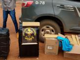 DOF prende dois homens transportando droga em ônibus