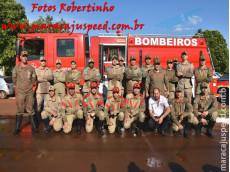 Maracaju: Autoridades participam de solenidade de passagem de comando do Corpo de Bombeiros