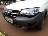 Maracaju: Condutor de veículo colidi com motociclista e foge do local sem prestar socorro