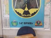 Maracaju: Jovem de 18 anos é presa por equipe da PMR com drogas escondidas em mala na MS-164