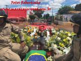 Maracaju: Emoção marca o sepultamento do Policial Militar Juciel Rocha Professor
