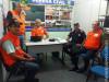 Coordenador da Defesa Civil de Maracaju Roberto Carlos Campos recebeu a equipe da Defesa Civil de Dourados