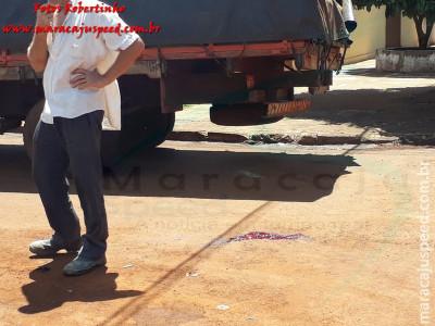 Maracaju: Condutora vai à óbito após acidente entre caminhonete e motocicleta