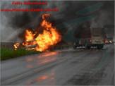 Maracaju: Corpo de Bombeiros atendem ocorrência de incêndio em veículo as margens da MS-162 saída para Sidrolândia