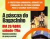"""Maracaju: """"Páscoa do Bagacinho"""" acontece no dia 20 de abril na Concha Acústica"""