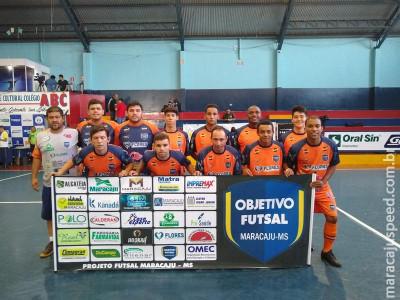 Equipe de Futsal de Maracaju se classifica na Taça SBT