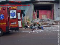 Maracaju: Acidente de trabalho deixa trabalhador ferido com fratura exposta