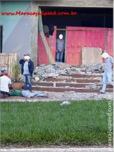 Maracaju: Acidente de trabalho. Homem cai de cerca de 4 metros de altura