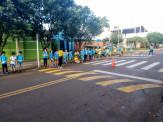 Maracaju: Alunos da Escola João Batista Lino Braga realizam blitz educativa