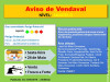 Maracaju: Aviso de Vendaval