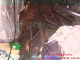 Maracaju: Bombeiros atendem ocorrência de tombamento de carreta carregada com óleo de soja na MS 157