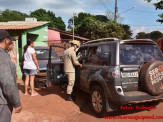 Maracaju: Condutor sofre mal súbito, colide com veículo e jovem fica ferido após muro desabar